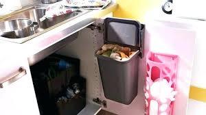 kitchen move poubelle de cuisine automatique 58 l poubelle cuisine interieur de porte kitchen move poubelle de