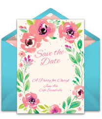 Save The Date Wedding Invitations Free Wedding Save The Dates Online Punchbowl