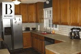 painting wood kitchen cabinets white before after makeover painting wood kitchen cabinets