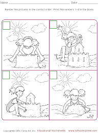 schoolexpress com free worksheet for sequencing retelling