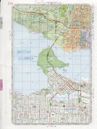 Map Of British Columbia Canada by District Of North Vancouver Map