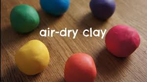 how to make rainbow air dry clay cold porcelain recipe youtube