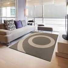 maison du tapis tapis moderne tapis de salon sphère en gris taupe et beige 160 x