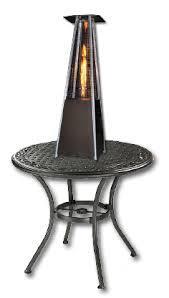 Patio Heater Table Phsqgh Tt Sunheat Contemporary Square Design Tabletop Patio Heater