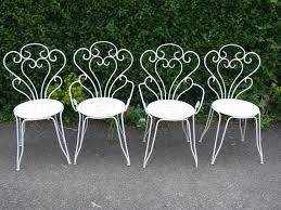 Wrought Iron Outdoor Swing by Furniture Garden Chair Furniture Vintage White Outdoor Gardening
