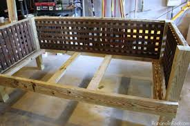 Wooden Outdoor Daybed Furniture by Diy Outdoor Daybed