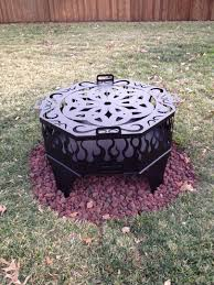 Fire Pit Ring With Grill by Custom Fire Pit Grills Fire Pit Design Ideas