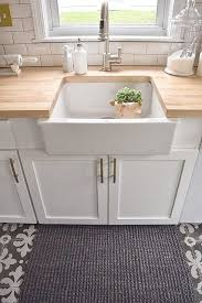 Ikea Farmhouse Kitchen Sink Connecticut Kitchen Remodel Butcher Blocks Counter Top And Sinks