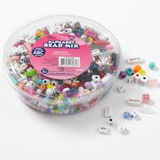 kids craft plastic pony beads clear walmart com