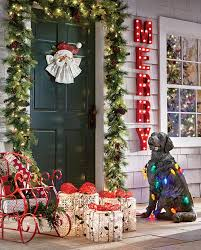 Christmas Decorations Outdoors by Outside Christmas Decorations Ideas Christmas Lights Decoration