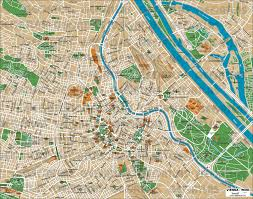 Map Of Vienna Geoatlas City Maps Vienna Map City Illustrator Fully