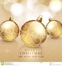 merry and happy new year card stock photo image of gold