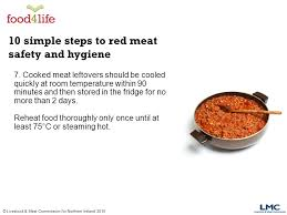hygiene cuisine livestock commission for northern simple steps to