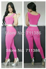 womens rompers and jumpsuits 2014 fashion bodycon jumpsuit pink womens rompers