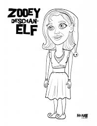 buddy the elf coloring page free download