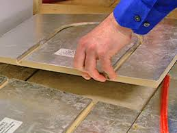 Underfloor Heating For Laminate Flooring How To Install A Radiant Heat System Underneath Flooring How Tos