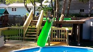 Water Slide Backyard by Backyard Homemade Water Slide Test Ride Youtube