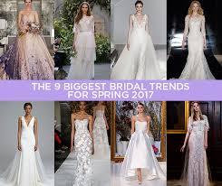 spring color trends 2017 9 wedding dress trends for spring 2017 crazyforus