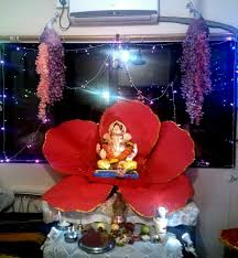Home Ganpati Decoration 392 Best Ganapati U0026 Deity Decoration Images On Pinterest More