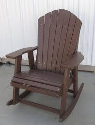 Composite Adirondack Rocking Chairs Apple Creek Furniture