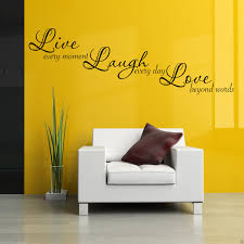 wall decals stickers home decor home furniture diy live laugh love wall art sticker lounge quote decal mural stencil transfer 3