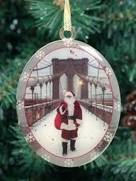 new york city ornament santa on