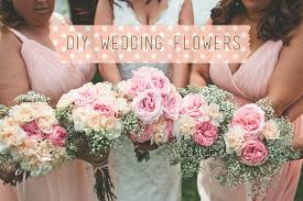 how to make a wedding bouquet diy wedding flowers live simple