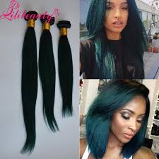 Two Tone Ombre Hair Extensions by Cheap 1b Green Ombre Hair Extensions 7a Ombre Brazilian Human Hair