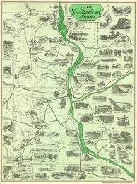 Volga River Map Allamakee Co Iagenweb Land Records