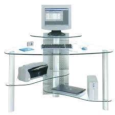 Corner Desk Ebay Computer In Glass Desk Computer Inside A Desk Glass Computer Desk