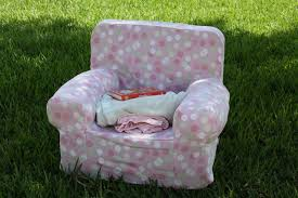 Pottery Barn Kids Oversized Anywhere Chair A Crafty Escape Knockoff Pottery Barn Anywhere Chair