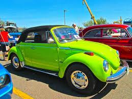 green volkswagen beetle convertible photos of antique cars acid green vw beetle convertible
