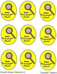 Easter Scavenger Hunt Bible Scavenger Hunt Cupcakes