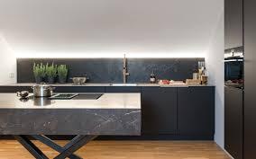 küchen manufaktur schwarze küche