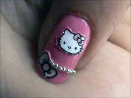 hello kitty nail designs short nails 2013 inofashionstyle com
