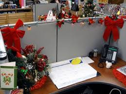 Cubicle Decoration Themes Stunning 70 Office Cubicle Christmas Decoration Decorating