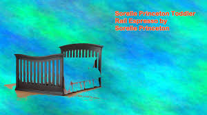 Storkcraft Portofino Convertible Crib And Changer Combo Espresso by Sorelle Princeton Toddler Rail Espresso By Sorelle Princeton Youtube