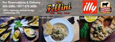 bistro fellini restaurant zamboanga city 55 reviews 83