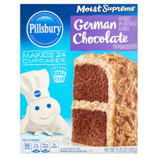pillsbury moist supreme premium german chocolate cake mix 15 25