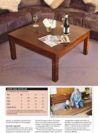 Game Table Plans Square Coffee Table Plans U2022 Woodarchivist