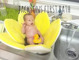 Blooming Bathtub Jackson U0027s First Bath Blooming Bath Youtube