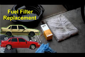 fuel filter replacement volvo 850 s70 v70 auto repair series