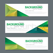 layout banner design vector background banner collection horizontal business set