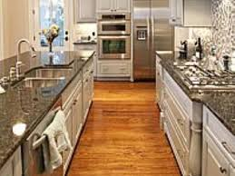 galley kitchens with islands simple amazing one way galley kitchen ideas my home design journey