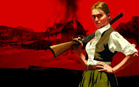 red dead redemption game wallpapers wallpapers bonnie macfarlane red dead redemption gun riffle