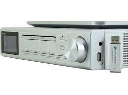eliteline ur2195si under cabinet bluetooth cd player fm dab