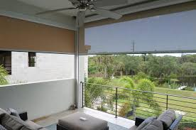 shade and privacy screens for the balcony shade and shield