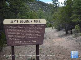 Arizona travel items images Hiking to the top of slate mountain the best trail near flagstaff jpg