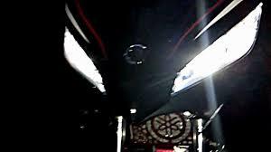 membuat lu led headl motor yamaha 135lc extreme spirit 2011 with led audi youtube