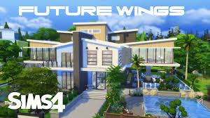 the sims 4 future wings speed build youtube